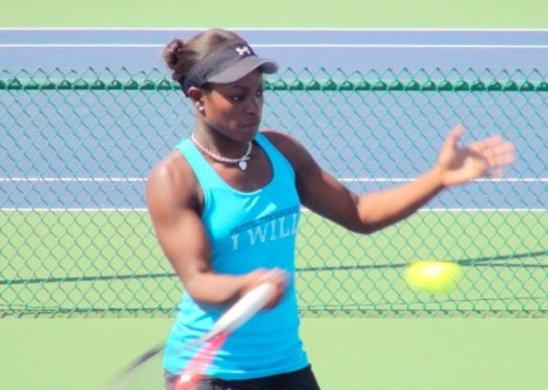 Sloane Stephens at Indian Wells (E. Gudris)