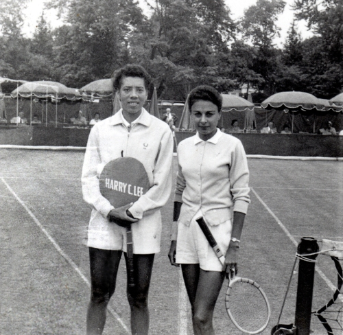 Althea Gibson and Millicent Miller