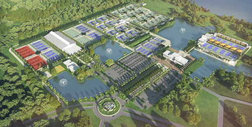 USTA tennis complex in Orlando.